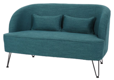 Cheeky Recessed Arm Loveseat