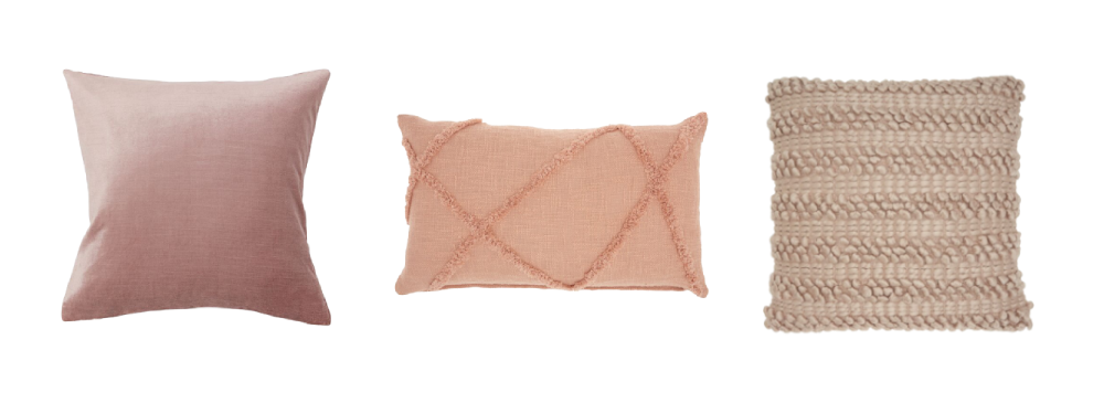 Best cushions for pink home decor